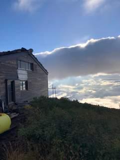 Hut near the top